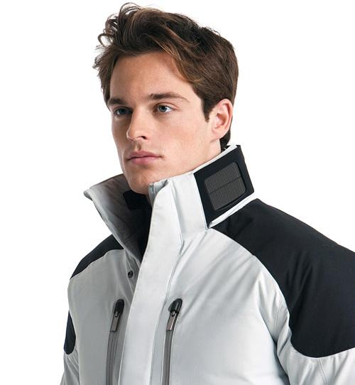 Zegna Solar Powered Ski Jacket (Image courtesy Affluent Page Luxury Index)