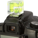 3-Axis Bubble Level Keeps Your Camera Straight