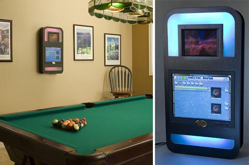 IntelliTunes Digital Jukebox (Images courtesy Game Cabinets Inc.)