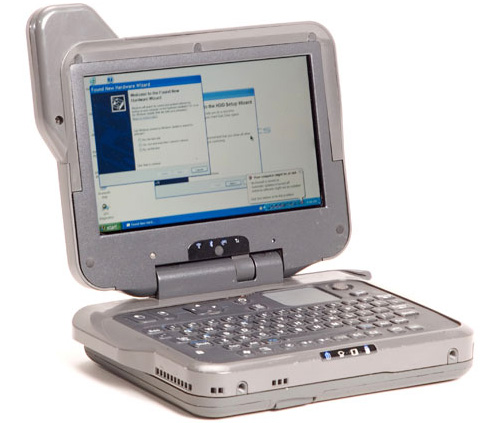 General Dynamics Itronix GoBook MR-1 (Image courtesy Laptop Magazine)