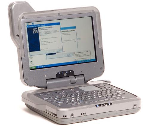 General Dynamics Itronix GoBook MR-1 (Image courtesy Laptop Magazine)