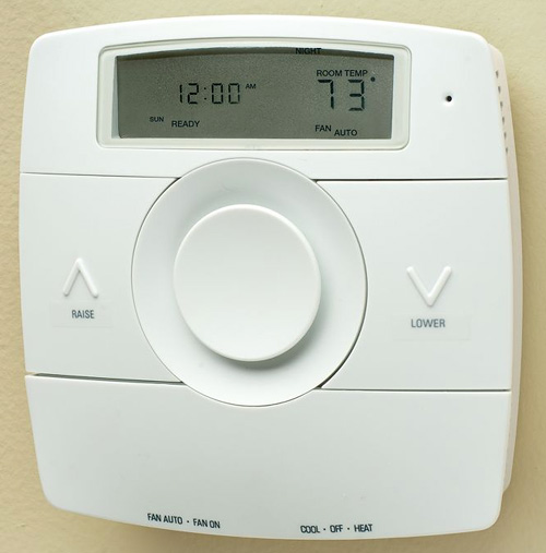 Kelvin Voice Activated Thermostat (Image courtesy Hammacher Schlemmer)