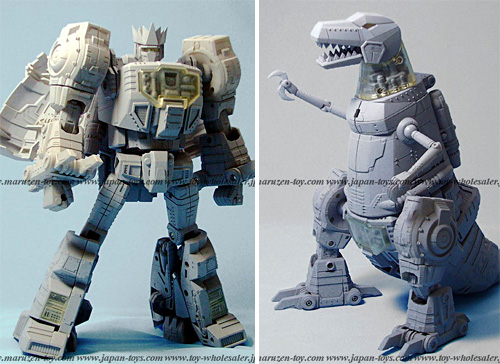 Takara MP-08 Masterpiece Grimlock (Images courtesy Maruzen-toy.com)