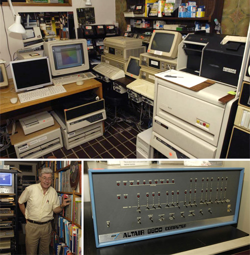 Max Burnet's Private Computer Museum (Images courtesy CIO)