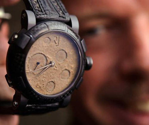 Romain Jerome Moon Dust-DNA Watch (Image courtesy theage.com.au)
