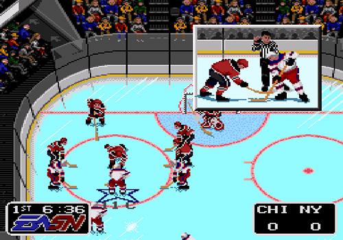 NHLPA Hockey '93 (Image courtesy MobyGames)