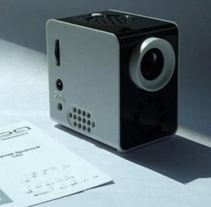 Epoq EPP-HH01 Pico Cube Projector (Image courtesy Gadget Craver)