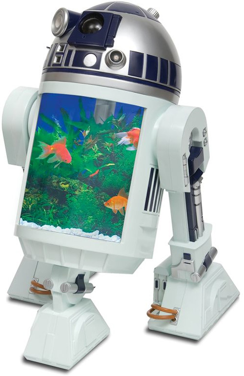 R2-D2 Aquarium (Image courtesy Hammacher Schlemmer)