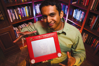 Remember-It-All Electronic Etch A Sketch (Image courtesy Design News)