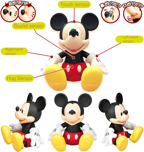 Friend of Friends: Mickey Mouse Robot (Images courtesy Japan Trend Shop)