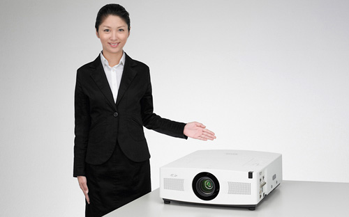 Sanyo LP-XTC50 Projector (Image courtesy Sanyo)