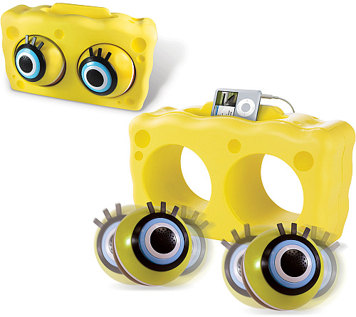 SpongeBob SquarePants: Eyeball Speaker Dock (Image courtesy The Nickelodeon Shop)