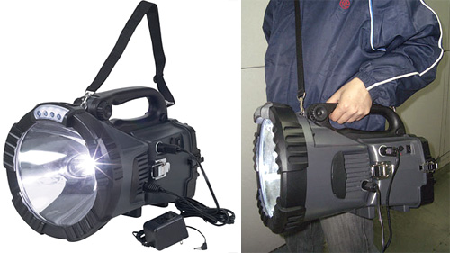 Sunforce 40 Million Candlepower HID Spotlight Lantern (Images courtesy Northern Tool + Equipment)