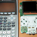 Game Boy Color Crammed Inside A TI-83 Calculator