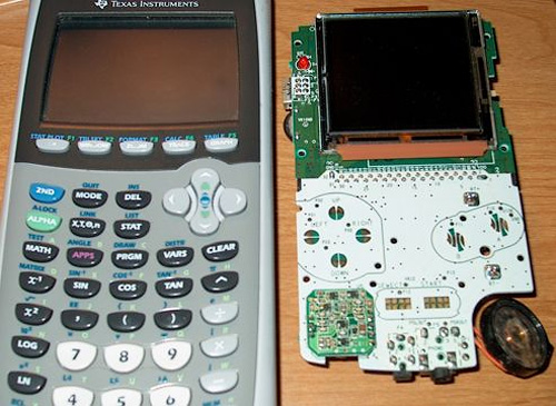 TI-84 & Game Boy Color (Images courtesy Mark Bowers)