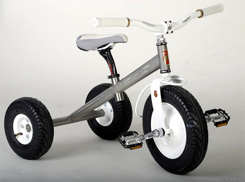 Titanium Tricycle (Image courtesy FirstBikeShop)