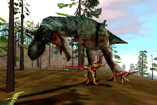 What's your favorite T. rex design? Trespasser_1