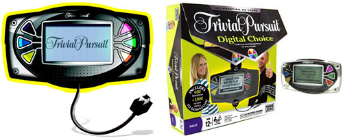 Trivial Pursuit Digital Choice (Images courtesy Hasbro)