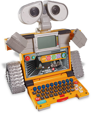 VTech WALL-E Learning Laptop (Image courtesy VTech)