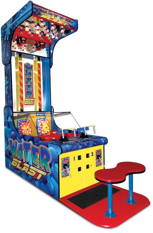 Authentic Water Blast Arcade Game (Image courtesy Hammacher Schlemmer)