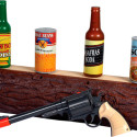 "Wild West Gun Slinger Shooting Gallery – ""My Cans! My Precious Antique Cans!"""