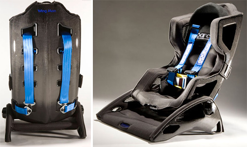 Wing Man Car Seat (Images courtesy Rory Craig)