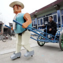 Chinese Farmer Builds His Own Robot Army, But Uses Them For Boring Tasks
