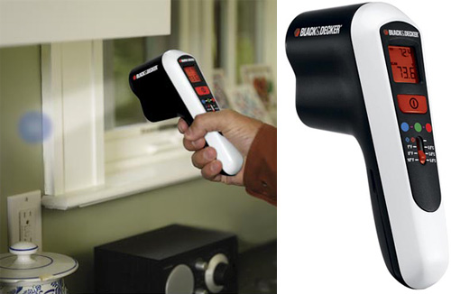 Black & Decker Thermal Leak Detector (Images courtesy Black & Decker)