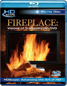 HDScape Fireplace: Visions Of Tranquility Blu-ray (Image courtesy HDScape)