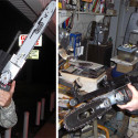Rifle Mountable Chainsaws Scream 'Safety First'
