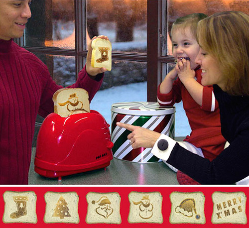 Christmas Pop Art Toaster (Images courtesy Baron Bob)