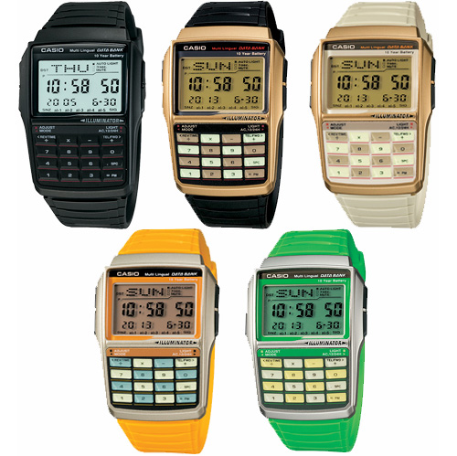Casio DBC32 Series (Image courtesy Casio)