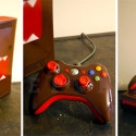 Domo-Kun Painted Xbox 360