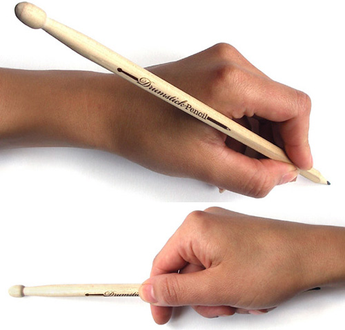 Drumstick Pencil (Images courtesy designboom)