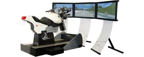 EF-Bike Motorcycle Simulator (Image courtesy Simulator Systems International)
