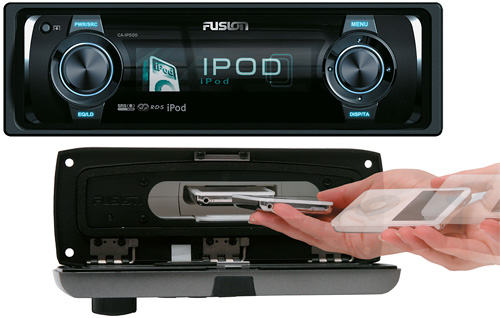 Fusion CA-IP500 Car Stereo (Images courtesy Fusion Electronics Ltd.)