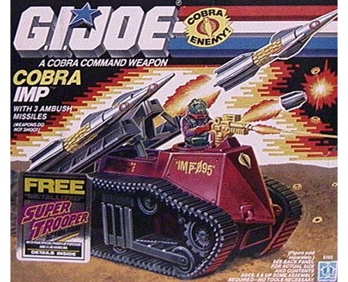 G.I. Joe Cobra Imp (Image courtesy Cracked.com)