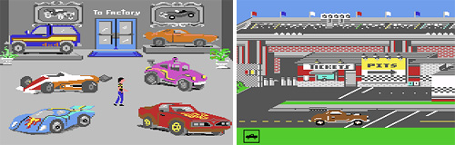 Hot Wheels (C64) (Images courtesy Lemon64.com)
