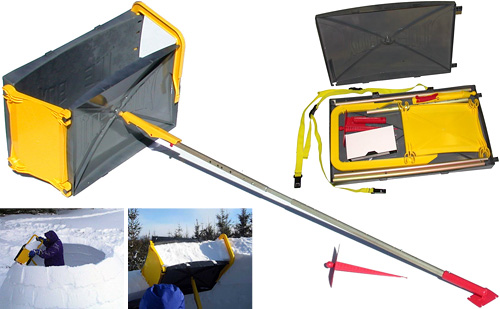 ICEBOX Igloo Tool (Images courtesy Grand Shelters Inc.)