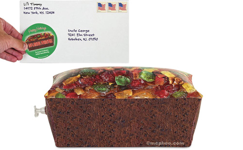 Inflatable Fruitcake (Image courtesy Archie McPhee)