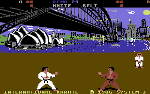international karate c64