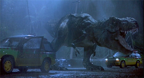 Jurassic Park (Image courtesy Aspect Ratio - A Cinema Blog)