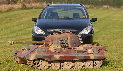King Tiger RC Tank (Image courtesy The Sun)