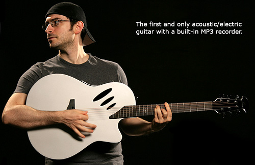 Ovation iDea Guitar (Image courtesy Ovation and WorkshopLive)