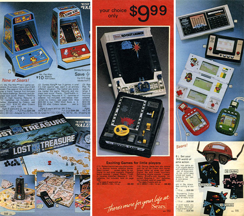 The Video Game Systems Of The 1983 Sears Wishbook (Images courtesy The Retroist)
