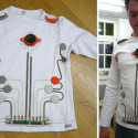 DIY Wearable Toy Piano Shirt
