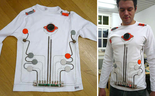 Wearable Toy Piano (Images courtesy Instructables - mikamika)