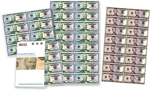 Uncut US Currency (Images courtesy the Bureau of Engraving and Printing Store)