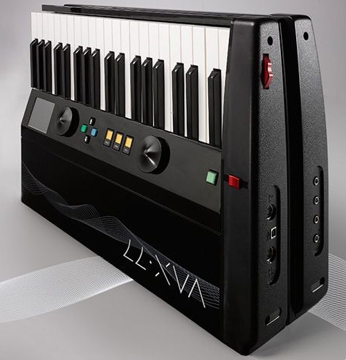 vax77 fold carry midi controller ohgizmo. Black Bedroom Furniture Sets. Home Design Ideas