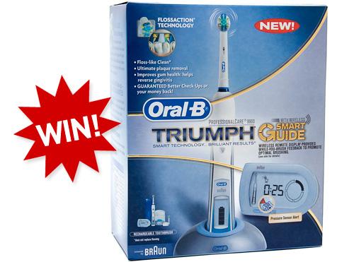Oral-B Triumph (Image property OhGizmo!)